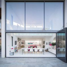 A White & Pink Home In Hampshire, England: Hampshire House by Witcher Crawford