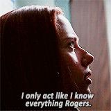 i only act like i know everything rogers