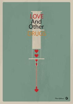 Love And Other Drugs - Movie poster by Måsse Hjeltman