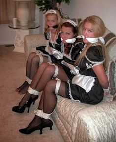 tied women up and Stockings heels