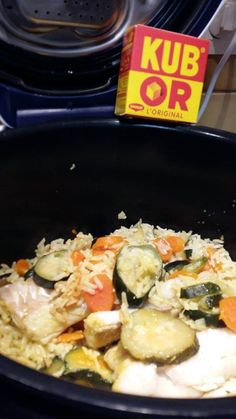 Dos de Cabillaud et son riz aux légumes