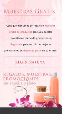 Consigue muestras #gratis | todocuponesydescuentos.es