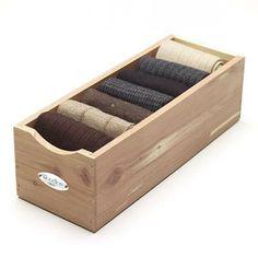 Cedar Closet Accessories. Sock StorageCashmere ...