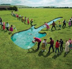 Storm Thorgerson: Steve Miller Band -Water Guitar (Album Cover)