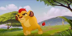 "Here's an Extremely Cute Clip From the ""Lion King"" Sequel ""The Lion Guard"""