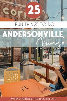 A bucket list for the popular trendy north side neighborhood of Chicago, Andersonville! A year-round everything you should do, see, and eat. Includes coffee shops, best restaurants, local events, and more! #Andersonville #Chicago Andersonville Chicago, Restaurants Local, Chicago Neighborhoods, Road Trip Adventure, Us Destinations, Cool Cafe, Local Events, Coffee Shops, Lake Michigan