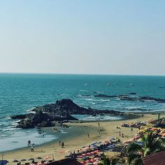 My view right now #travel #wanderlust #capture #travelgram #photooftheday #travelphotography #natgeo #goavibes #goa #goadiaries #igtravel #india #beautiful #view #instapic #instalike #cafe #rooftop