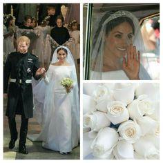 wedding of Prince Harry & Meghan Royal Wedding Harry, Harry And Meghan Wedding, Royal Wedding Gowns, Prince Harry And Megan, Royal Weddings, Princess Meghan, Royal Princess, Prince And Princess, Lady Diana