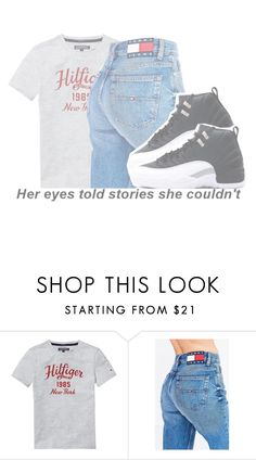 """Tommy"" by annecr0wley ❤ liked on Polyvore featuring Tommy Hilfiger"