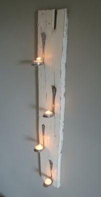 De madera, de cuchara, de metal... Cualquier tipo de cuchara nos sirve para hacer originales manualidades.