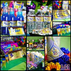 Chocolate Factory Party Birthday Party Ideas | Photo 8 of 17 | Catch My Party