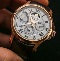 Seiko Premier Kinetic Direct Drive Moonphase Watch Review Wrist Time Reviews