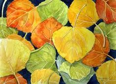 watercolour leaves abstract - Google Search