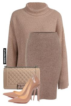 """Untitled #2108"" by whokd ❤ liked on Polyvore featuring Chanel and Christian Louboutin"