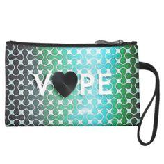Vape Heart Retro Wristlet #vape #retrovape #accessories #bags #ecig #teenseyecandy #zazzle