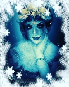 Satu Ylävaara (@satuylavaaraphotography) • Instagram-kuvat ja -videot Snow Queen, Ice Queen, Water Nymphs, Sea Monsters, Pop Culture, Mermaid, Portrait, Canvas, Fictional Characters