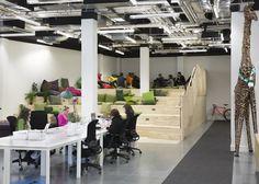 airbnb dublin office design by heneghan peng inspirationoffice airbnb cool office design train tracks