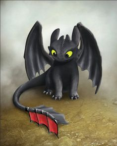 Toothless Inspired Dragon, How To Train Your Dragon, Printable Poster, Instant… Croque Mou, Illustration Art Dessin, Halloween Illustration, Art Illustrations, Toothless And Stitch, Baby Toothless, Printable Poster, Image Beautiful, Dragon Party