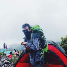 hiking to mt.marapi 2891
