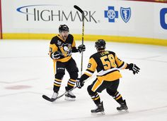 May 30, 2016 vs. San Jose (Round 4, Game 1): Bryan Rust and Conor Sheary scored 1:02 apart, and Nick Bonino scored a late goal to give the #Pens a 1-0 edge in the Stanley Cup Final. Final score, 3-2 Penguins.