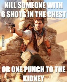 Video game logic Uncharted