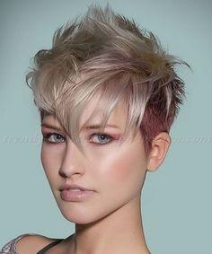 22 Leuchtende Undercut Short Frisuren für Frauen