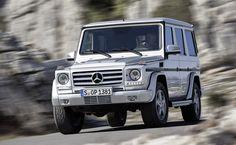 Mercedes Benz G Wagon White