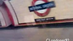 London Underground Central Line 1992 stock filmed in late Central Line, Tube Train, Bethnal Green, London Transport, London Underground, Trains, Transportation, Videos, Youtube