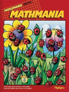 These aren't your normal math books for kids! The Mathmania book club from Highlights is full of math puzzles that let kids have fun while learning math. Math For Kids, Puzzles For Kids, Fun Math, Crafts For Kids, Math Books, Puzzle Books, Classroom Decor Themes, Classroom Ideas, Math Problem Solving