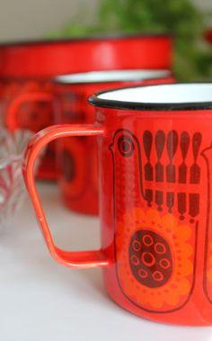 Finel Finland enamel kitchenware