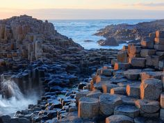 Giant's Causeway is a natural wonder worthy of its whimsical moniker. The UNESCO World Heritage site is made up of 40,000 hexagonal basalt columns, which were formed by volcanic activity 40–50 million years ago (though as legend has it, a giant named Finn McCool tossed parts of the Antrim coast into the sea to beat a hasty path to fight a giant Scottish interloper). The rocks fit together as perfectly as puzzle pieces.
