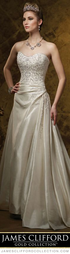 Weddingdresses Weddingdress Style No J21460 Strapless Hand Beaded Embroidered And Light Mikado A