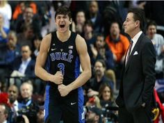 Grayson Allen | starting to look a lot like himself now. Shooting better and driving the lane again love watching him play and love that so many coaches have defended him. No shocker Coach K defended him but Rick did as well proving he is a good guy. Pple who actually know him respect him as a player and a person. Live him so much