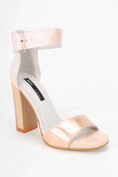 Miista Lily Heeled Ankle-Wrap Sandal - Urban Outfitters