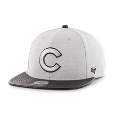 Chicago Cubs Riverside Captain Gray 47 Brand YOUTH Hat