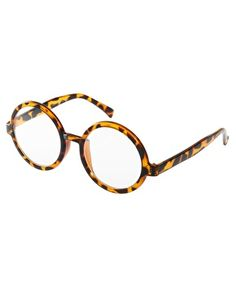 Jeepers Peepers Clive Tortoise Round Clear Glasses