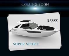 Monterey Boats will be debuting the 378SS at the 2016 Miami International Boat Show.