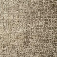 Beige Shiny Reptile Skin Look Velvet Upholstery Fabric