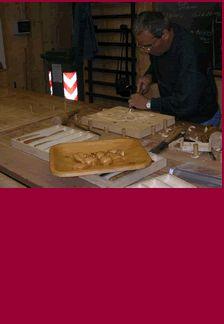 """""""Il Picchio"""" aiuta l' #Ecomuseo dell'Alta Valsangone per la divulgazione delle tecniche scultoree per la lavorazione del legno #aboutvalsangone"""