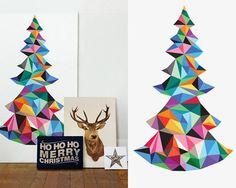 geometric christmas - Buscar con Google
