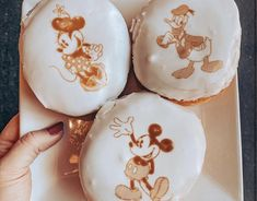 Joffrey's Coffee Now Printing Your Favorite Disney Characters on Donuts