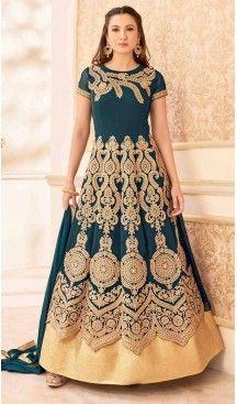 Cadet Blue Color Georgette Long Anarkali Style Pakistani Salwar Kameez | FH542681469 Follow Us @heenastyle << #pakistanifashion #onlineshoppingusa #heenastyleonlineshoppingindia #onlineshoppingusa #onlineshoppingindia #saree #sari #indianwear #indiangirls #indiagirl #boutiquecowgirl #countrygirls #onlineshoppingusa #classyfashion #classyladies #cutoutdress #luxurylook #littlewhitedress #stylists #fashion #fashionista #onlineshoppingusa #shopmystore #outfitideas #girlsbelike #heenastyle