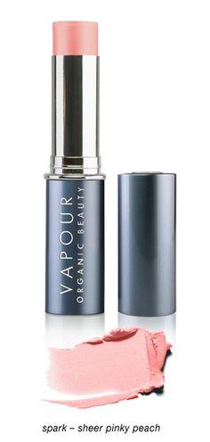 @Vapour Organic Beauty Aura Multi-Use Blush - featured on today's #morningroutine. nomoredirtylooks.com