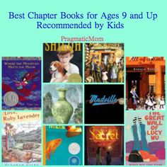 Best books for kids in 3rd to 5th grade recommended by kids :: PragmaticMom