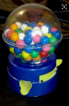 Toy Gumball Machine and Bank