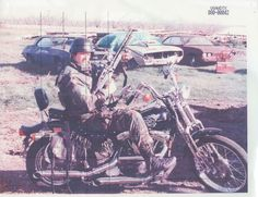 This photo shows an agent posing on a captured Branch Davidian motorcycle. Note the painting on the bike's gas tank, which depicts a six-winged guitar-playing long-tailed seraph and the words 'Rock 'n' Roll'. (I believe that the Branch Davidian flag is illustrated with a six-winged dragon or serpent.)