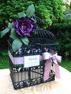 Beautiful Wedding Card Box / Lavender / by SouthburyTreasures, $65.00