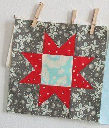 Fourth of July Star Blocks | FaveQuilts.com