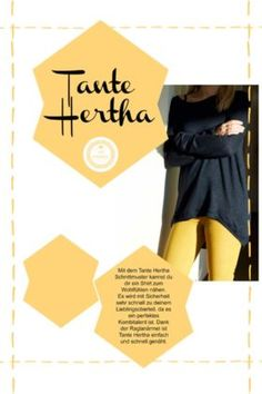 Tante Hertha Schnittmuster Ebook Cover