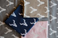 These fabrics feature a deer silhouette or woodland theme. Great for hand bags, pillows, curtains, or even table runners. Deer Fabric, Deer Silhouette, Black And White Fabric, Woodland Theme, Home Decor Fabric, White Fabrics, Sewing Tutorials, Printing On Fabric, Crafting